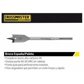 MECHA PALETA 18MM Crossmaster