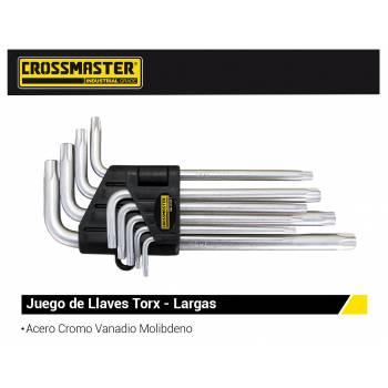 JUEGO LLAVES TORX T-10 T-50