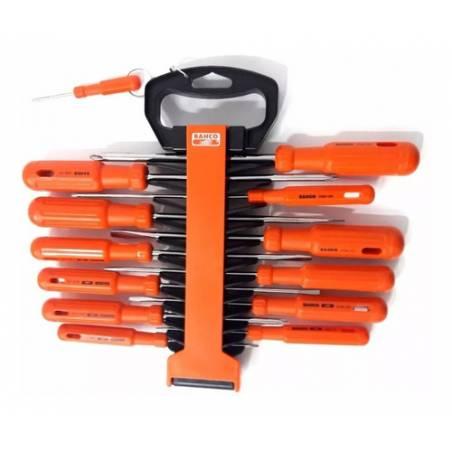 Set destornilladores x12 Bahco