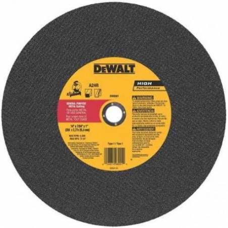 Disco de corte DW44620 O Alum 305x2.5x25 SENSITIVA