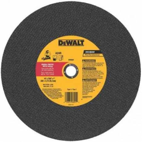 Disco de corte DW 44615 O.Alum.405x3.8x25 SENSITIVA.