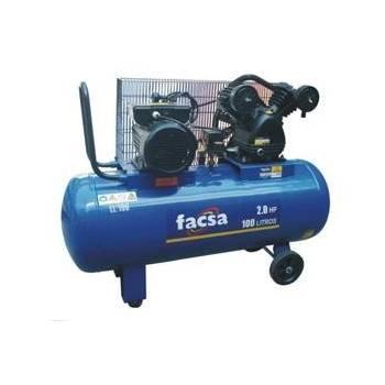 COMPRESOR FACSA 2HP 100 lts.