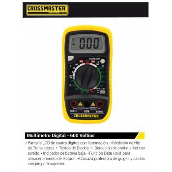 MULTIMETRO DIGITAL 200-600V